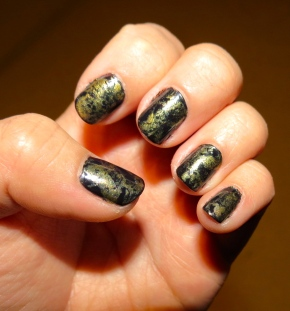 Antique Nails: The Foiled Effect
